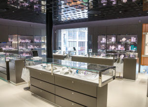 Jewelry stores are also highly frequented by burglars and con artists