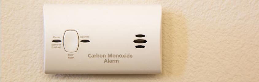 Carbon Monoxide detector - Mesa Alarms