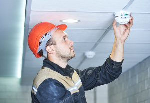 Install a proper fire alarm system