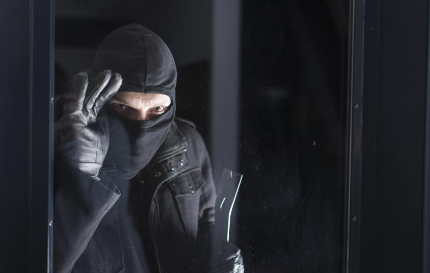 Burglars casing your home