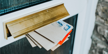 Thieves will test if you are home by leaving flyers