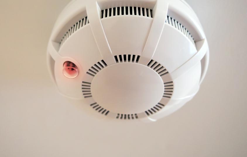 Carbon monoxide detector going off