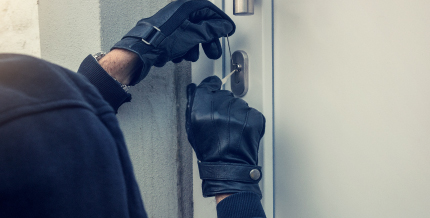 Home burglaries remain a huge problem in the United States