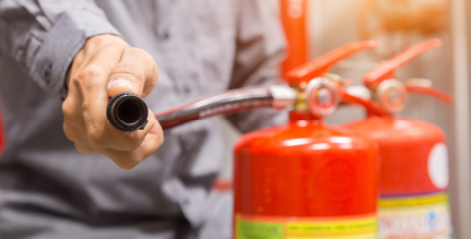 Any fire safety training plan should include fire extinguisher training for all employees.