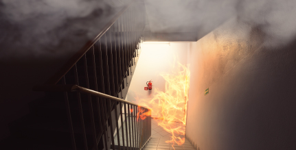 Fires are preventable with a fire safety training plan and the proper equipment and system to monitor for fires.